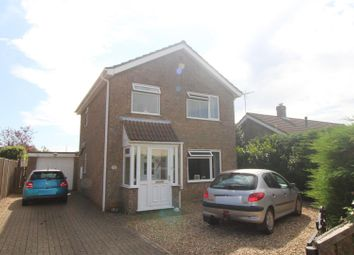 Thumbnail 3 bed detached house for sale in Hunters Close, Terrington St. Clement, King's Lynn