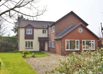 Thumbnail 4 bed detached house for sale in The Court, Lisvane, Cardiff