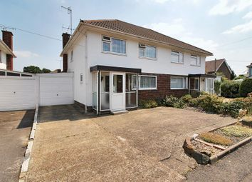Thumbnail 3 bed semi-detached house for sale in Crabbet Road, Three Bridges, Crawley, West Sussex