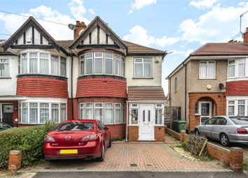 Thumbnail 3 bed end terrace house for sale in Ovesdon Avenue, Harrow, Middlesex