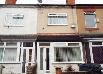 Thumbnail 3 bedroom terraced house for sale in Deykin Avenue, Aston, Birmingham, West Midlands