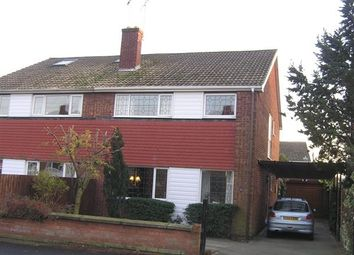 Thumbnail 3 bed semi-detached house to rent in Copper Beech Walk, Bottesford, Scunthorpe