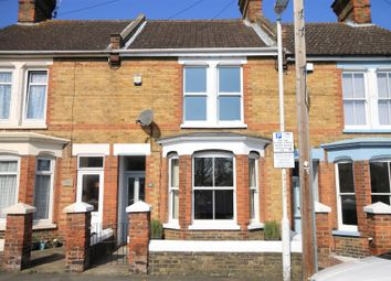 Thumbnail 3 bed terraced house for sale in Saxon Road, Faversham