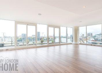 Thumbnail 3 bed flat to rent in Baltimore House, Battersea Reach, Juniper Drive, Battersea