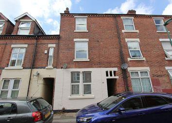 Thumbnail 4 bed terraced house for sale in Lees Hill Street, Nottingham, Nottinghamshire