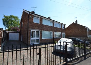 Thumbnail 3 bed semi-detached house for sale in Homefield Road, Sileby, Leicestershire