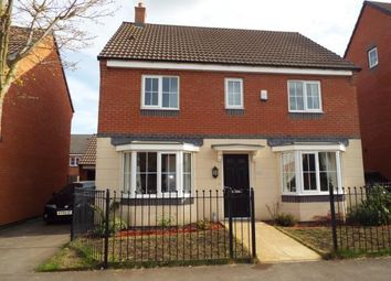 Thumbnail 4 bed detached house for sale in Birstall Meadow Road, Birstall, Leicester, Leicestershire