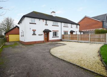 Thumbnail 3 bed semi-detached house for sale in Uttoxeter Road, Blythe Bridge
