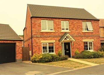 Thumbnail 4 bed detached house for sale in Kingfisher Way, Ollerton, Nottingham