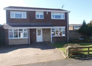 Thumbnail 4 bed detached house for sale in Ryde Place, Cramlington