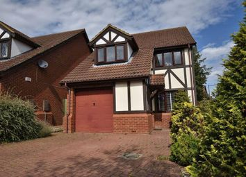 Thumbnail 3 bed detached house for sale in Paxton Crescent, Shenley Lodge, Milton Keynes, Buckinghamshire