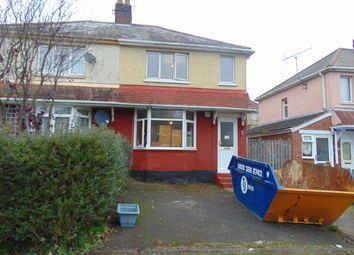 Thumbnail 3 bed terraced house to rent in Laburnum Road, Southampton