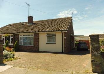 Thumbnail 2 bed semi-detached bungalow for sale in Western Road North, Sompting, Lancing