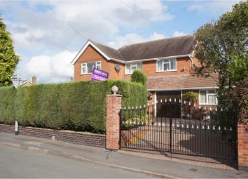 Thumbnail 4 bedroom detached house for sale in Pinfold Lane, Wheaton Aston