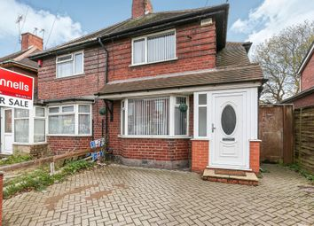 Thumbnail 2 bedroom semi-detached house for sale in Vicarage Road, West Bromwich