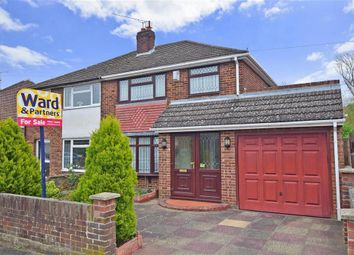 Thumbnail 3 bed semi-detached house for sale in Garden Close, Maidstone, Kent