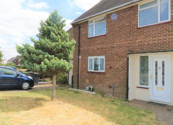 Thumbnail 3 bed semi-detached house to rent in Longcroft Road, Luton