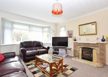 Thumbnail 3 bed detached bungalow for sale in Central Avenue, Findon Valley, Worthing, West Sussex