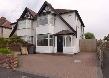 Thumbnail 3 bedroom semi-detached house for sale in Warbreck Hill Road, Blackpool
