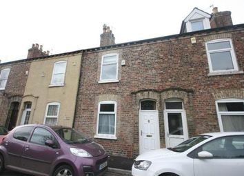 Thumbnail 2 bedroom terraced house to rent in Scarborough Terrace, York