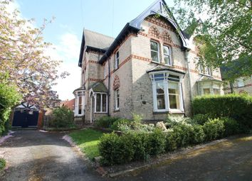 Thumbnail 5 bedroom semi-detached house for sale in Alexandra Road, Stoneygate, Leicester