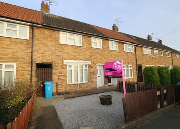 Thumbnail 3 bed terraced house to rent in Felbridge Close, Hull