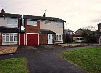 Thumbnail 4 bed detached house for sale in Fletchers Way, Leicester