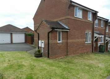 Thumbnail 3 bed end terrace house to rent in Marston Close, Belper, Derbyshire
