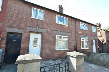 Thumbnail 3 bed terraced house to rent in Lowerfield Road, Macclesfield, Cheshire