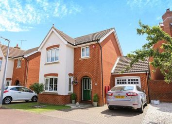 Thumbnail 3 bed detached house for sale in Fennel Drive, Biggleswade, Bedfordshire