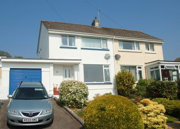 Thumbnail 3 bed semi-detached house to rent in Mongleath Close, Falmouth