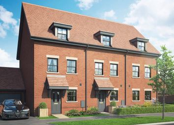 Thumbnail 4 bed town house for sale in The Daisy. Popeswood Grange, London, Binfield, Berkshire