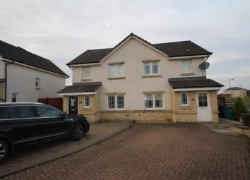 Thumbnail 3 bed semi-detached house for sale in Cargill Place, Airdrie, North Lanarkshire