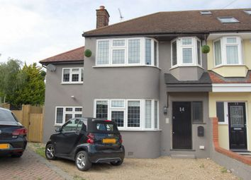 Thumbnail 4 bed end terrace house for sale in Willow Close, Buckhurst Hill