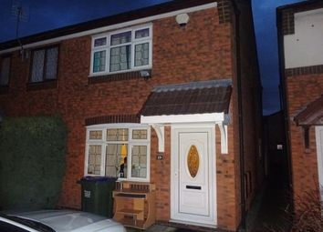 Thumbnail 2 bedroom property to rent in Clary Grove, Walsall