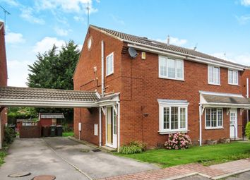 Thumbnail 3 bedroom semi-detached house for sale in Oakdene Court, Shadwell, Leeds