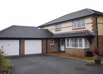 Thumbnail 4 bed detached house to rent in Century Close, St. Austell