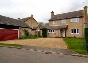 Thumbnail 4 bedroom detached house for sale in Lindsey Close, Woodnewton
