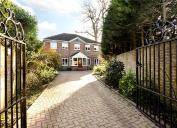 Thumbnail 5 bed detached house for sale in Rosslyn Park, Weybridge, Surrey