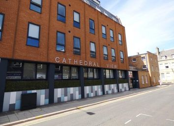 Thumbnail 2 bed flat for sale in Cathedral View, Wentworth Street, Peterborough, Cambridgeshire