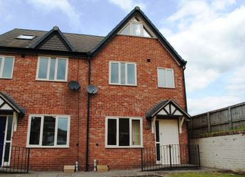 Thumbnail 3 bed end terrace house to rent in Shrewsbury Road, Market Drayton, Shropshire