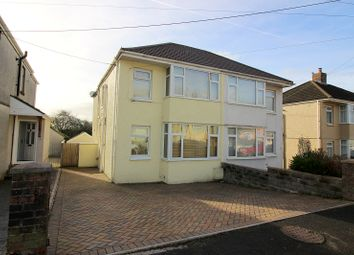 Thumbnail 3 bed semi-detached house to rent in Garfield Avenue, Litchard, Bridgend.