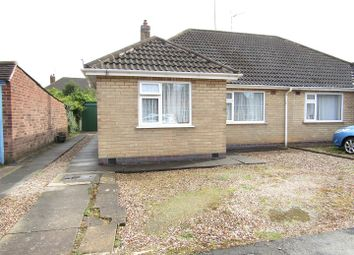 Thumbnail 2 bed semi-detached bungalow for sale in Keswick Road, Blaby, Leicester