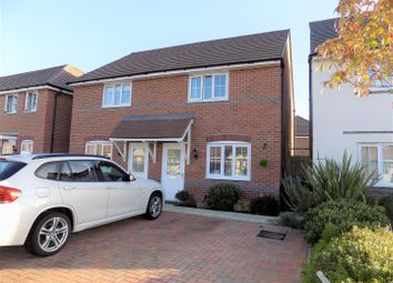 Thumbnail 2 bed semi-detached house for sale in Cover Drive, Bottesford, Nottingham
