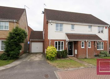 Thumbnail 3 bed semi-detached house for sale in Pym Close, Thorpe St Andrew, Dussindale