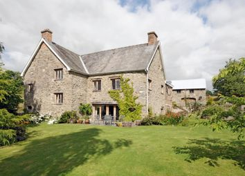 Thumbnail 4 bed detached house for sale in Bettws, Hundred House, Llandrindod Wells