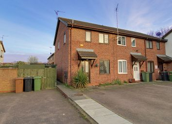 Thumbnail 2 bedroom end terrace house for sale in Nightingale Court, Gunthorpe, Peterborough