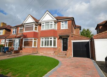 Thumbnail 3 bed semi-detached house for sale in Wetheral Drive, Stanmore
