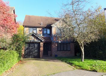Thumbnail 5 bed detached house to rent in Lowry Close, College Town, Sandhurst