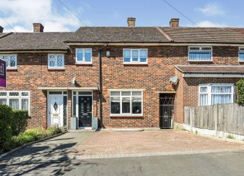 Thumbnail 2 bed terraced house for sale in Petersfield Close, Romford